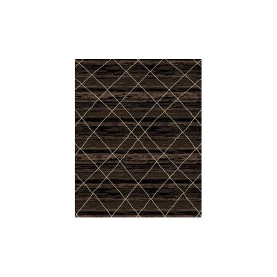 Bevis Taupe Black Area Rug Rug Size: Rectangle 711 x 910