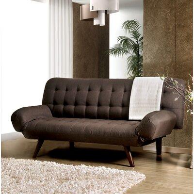 Wiltz Mid-Century Modern Convertible Sofa