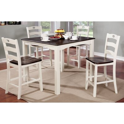 Gullo Transitional Counter Height Dining Set