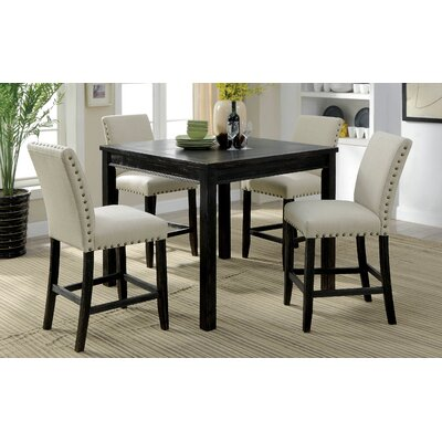 Stuckey Rustic Counter Height Dining Set