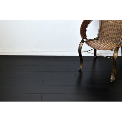 Tyrell 7 x 48 x 12mm Oak Laminate Flooring in Black