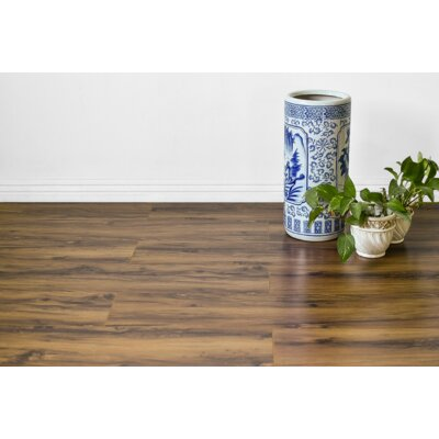Kayson 8 x 48 x 12mm Oak Laminate Flooring in Tan