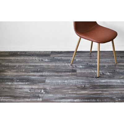 Vance 7 x 48 x 12mm Oak Laminate Flooring in Gray