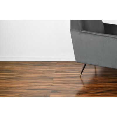 Vance 7 x 48 x 12mm Oak Laminate Flooring in Brown