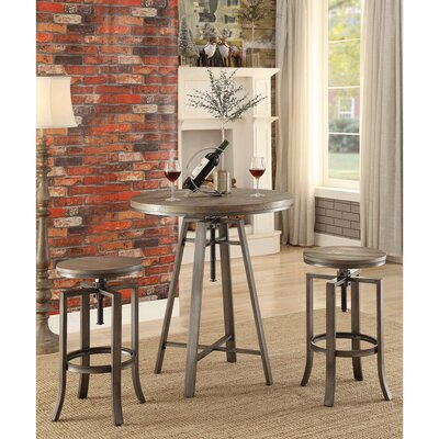 Mccourt Contemporary Adjustable Pub Table
