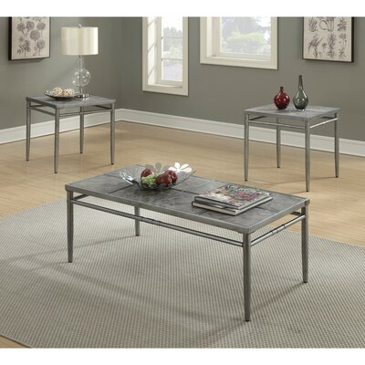 Mccrae Amazingly Designed 3 Piece Coffee Table Set
