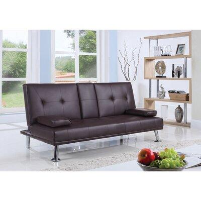 Casten Polyurethane Convertible Sofa