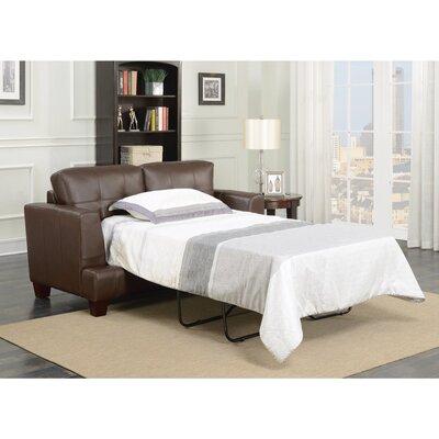 Wurm Sleeper Loveseat Upholstery: White