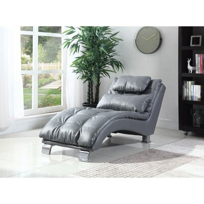Lui Chaise Lounge Upholstery: Gray