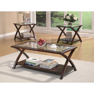 Morariu Appealing 3 Piece Coffee Table Set