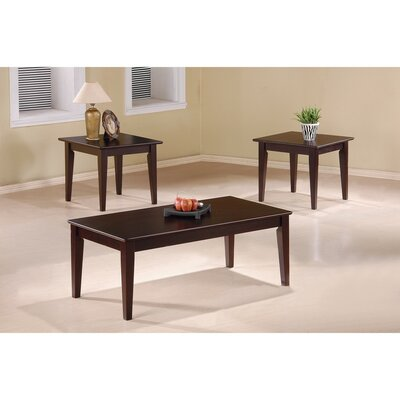 Kizer 3 Piece Coffee Table Set