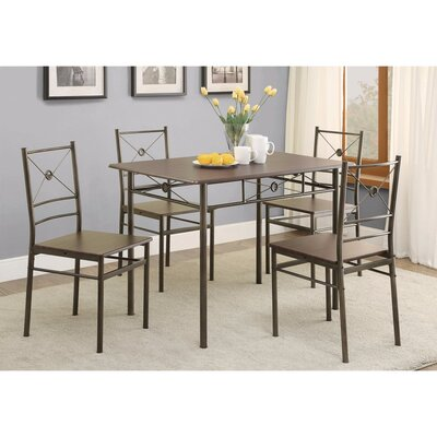Mazzola 5 Piece Dining Set