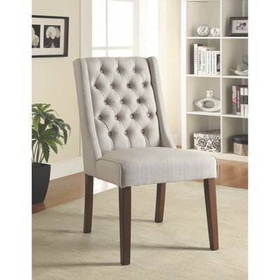 Sabion Debonairly Cultured Upholstered Dining Chair