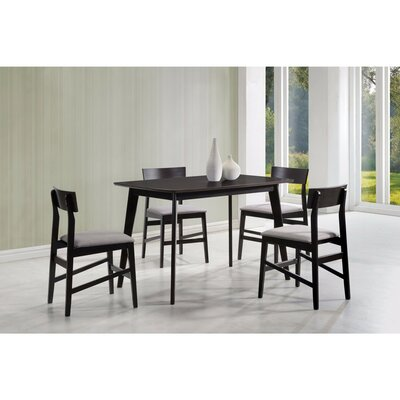 Deckert Splendid Wooden 5 Piece Dining Set