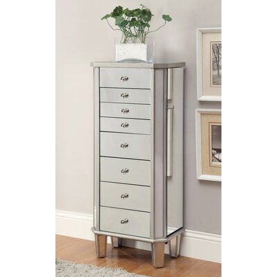 Leppert Contemporary Style Jewelry Armoire