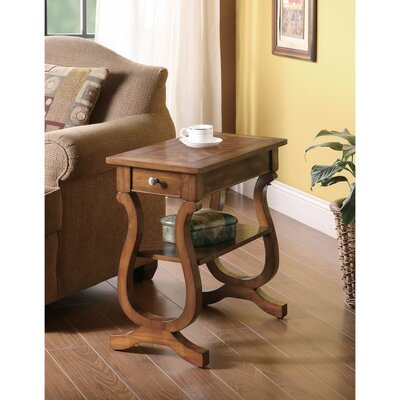 Kimpel Wooden End Table