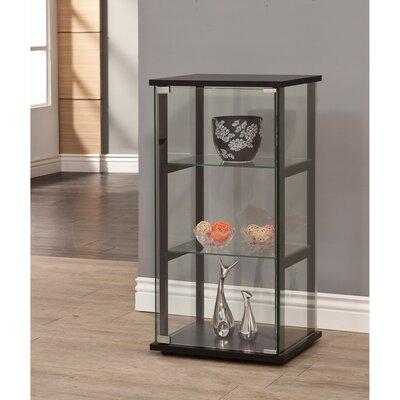 Hollaway 3 Shelf Curio Cabinet