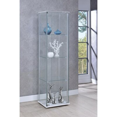 Lauring Glass Curio Cabinet