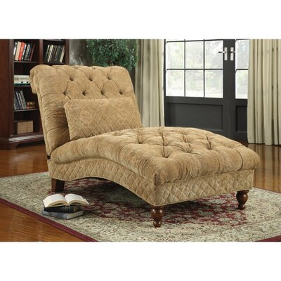 Felda Tufted Upholstered Chaise Lounge