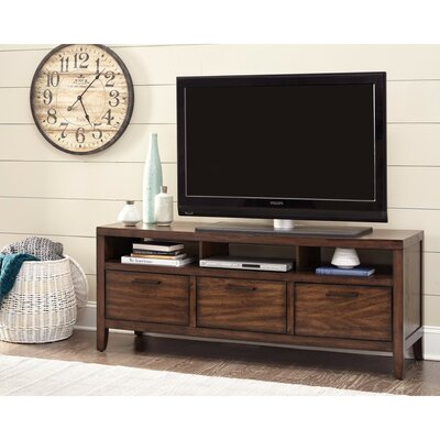 Rushin Lustrous Transitional Wooden 60 TV Stand