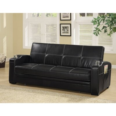Molesworth Faux Leather Convetible Sofa