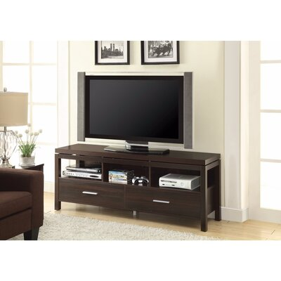 Posselli Magnificent 60 TV Stand with Drawers Color: Brown