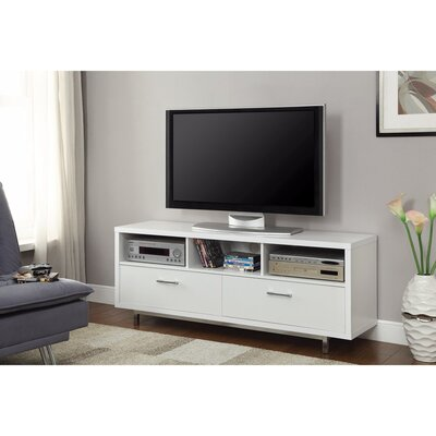 Allington Stunning 60 TV Stand Color: White