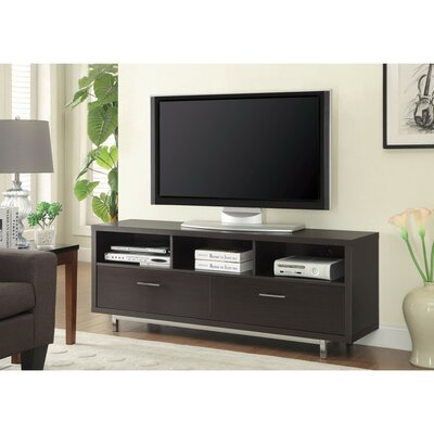 Allington Stunning 60 TV Stand Color: Brown
