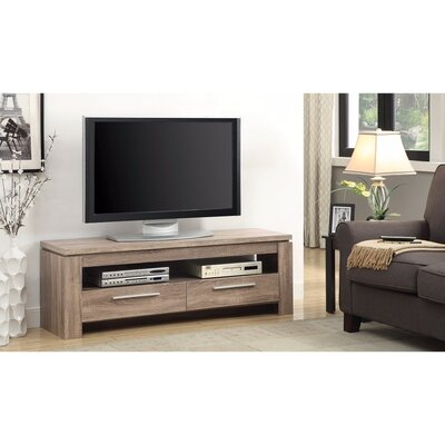 Parkdale Exclusive Weathered 59 TV Stand Color: Brown