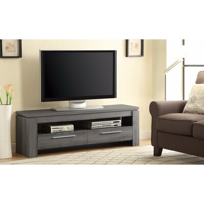 Parkdale Exclusive Weathered 59 TV Stand Color: Gray