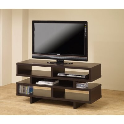 Caslin Contemporary 47 TV Stand Color: Brown