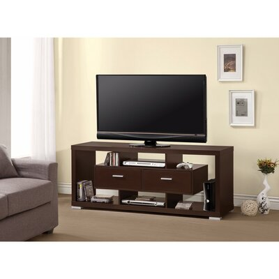 Polster Glamorous Modern Style 59 TV Stand Color: Brown