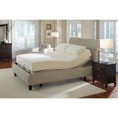 Fontvieille Luxurious Long Adjustable Massage Twin Upholstered Sleigh Bed