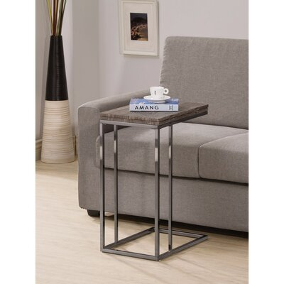 Decastro Wooden Snack End Table
