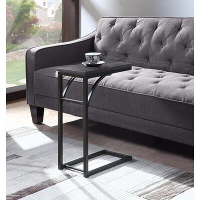 Holthaus Metal Snack End Table