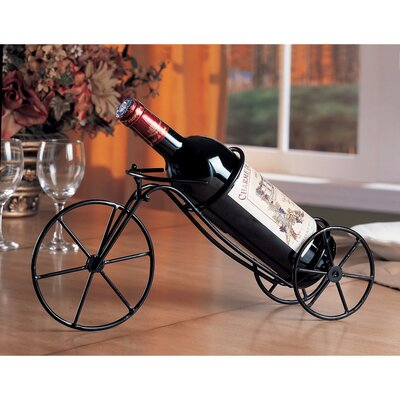 Keels Bicycle Tabletop Wine Bottle Rack
