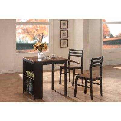 Karlson Modish Wooden 3 Piece Dining Set