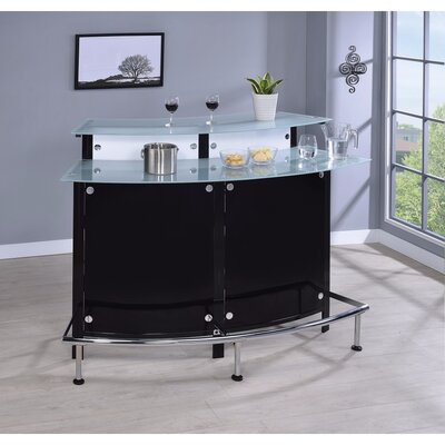Frew Bar with Wine Storage