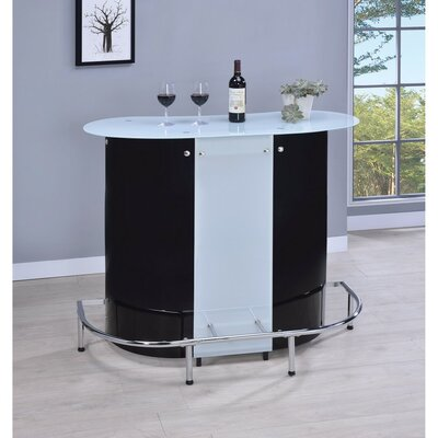 Iverson Bar with Wine Storage