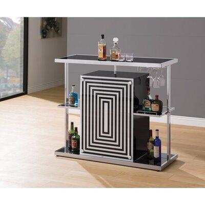 Decosta Bar with Wine Storage