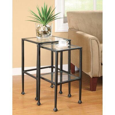 McDonald Metal 2 Piece Nesting Tables