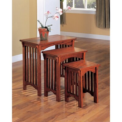 Colerane Wooden 3 Piece Nesting Tables