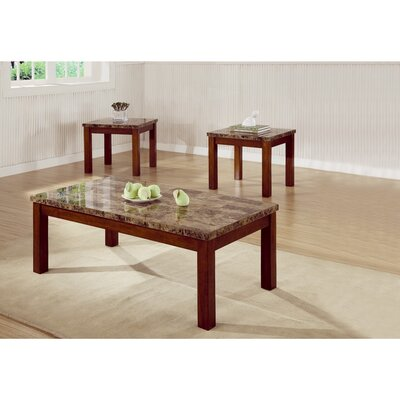 Coleman 3 Piece Coffee Table Set