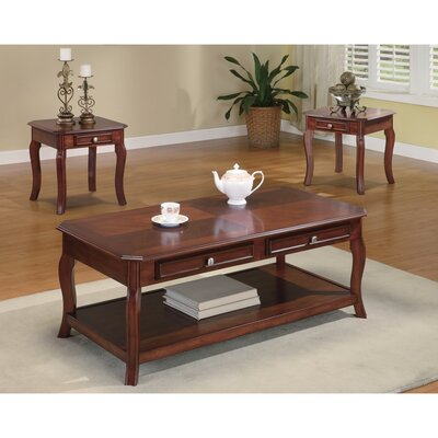 Else 3 Piece Coffee Table Set