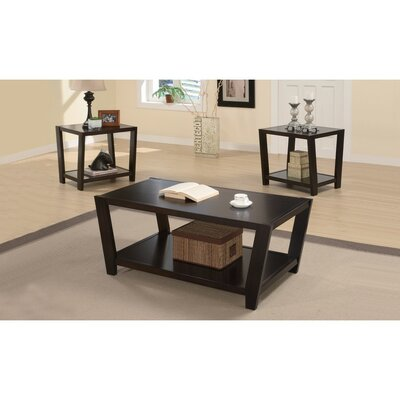 Deters Convenient 3 Piece Coffee Table Set