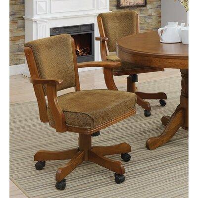 Temaraia Cozy Upholstered Swivel Armchair