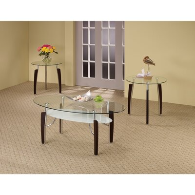 Sirohiwala Sturdy 3 Piece Occasional End Table Set