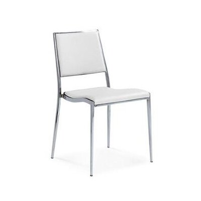 Broxton Dining Chair Color: White
