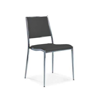 Broxton Dining Chair Color: Black