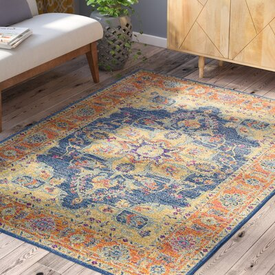 Andover Area Rug Rug Size: Rectangle 53 x 73